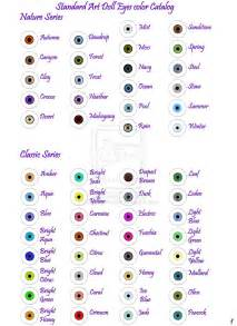 eye color names ad eye color chart pg 1 by cozmicdreamer on deviantart