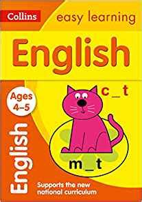 collins easy learning age 3 5 english ages 4 - 0008134200 Collins Easy Learning Age