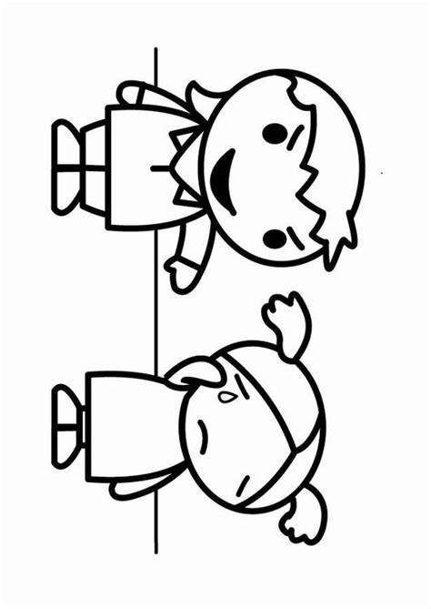 imagenes faciles para dibujar del bullying kleurplaat plagen pesten afb 23964