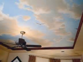 painting on ceiling sky ceiling paint design ideas your home