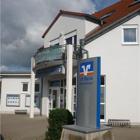 vr bank rhein pfalz vr bank rhein neckar eg filiale hochdorf assenheim in