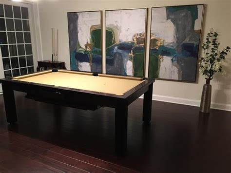 convertible pool table convertible pool tables dining room pool tables