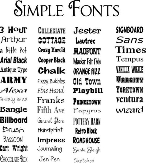simple tattoo fonts simple fonts six tips resources