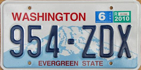 Vanity Plates Washington washington 3
