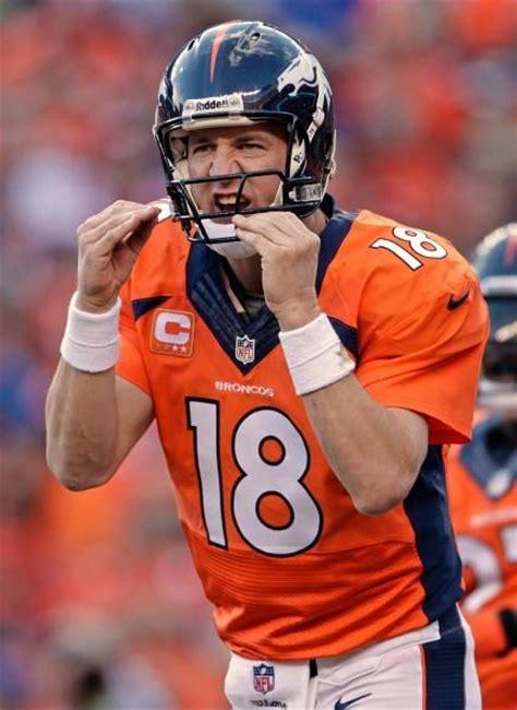 denver broncos couch denver broncos quarterback peyton manning telling the