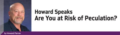 Howard Farran 30 Day Mba by Howard Speaks Are You At Risk Of Peculation By Howard