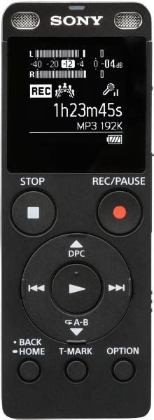 Voice Recorder Sony Icd Ux560 sony icd ux560 4gb digital voice recorder with built in