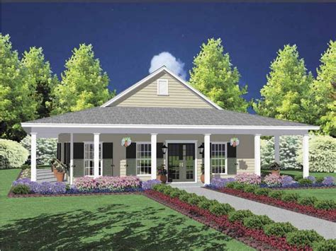 house plans country one story timeless country home with wraparound porch hwbdo61827