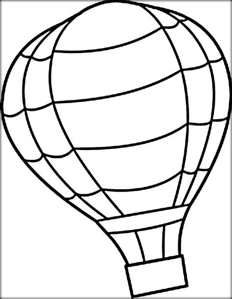 air balloon coloring page air balloon coloring pages for adults color zini