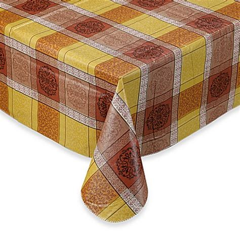 bed bath and beyond tablecloth morocco vinyl tablecloth bed bath beyond