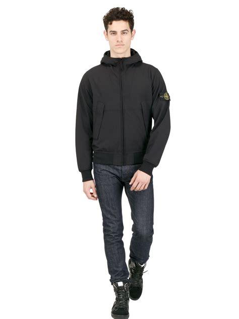 Nania Jaket Soft Jacket Denim lyst island hooded polyester jacket in soft shellr