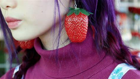 fruit earrings easy diy fruit earrings