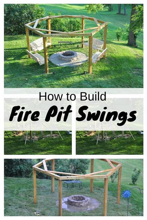 build fire pit swings  budget diet