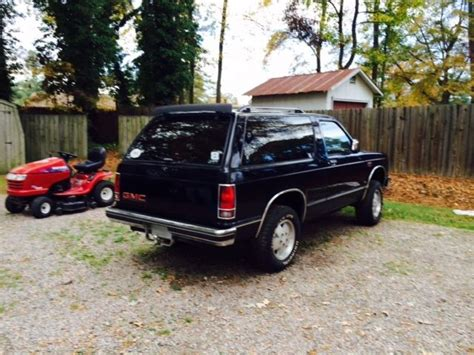 gmc jimmy 1989 gmc jimmy suv 1989 black for sale 1gkct18r2k0500455 1989