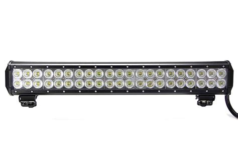 led light bar vortex series led light bar 20 inch 126 watt combo tuff led lights