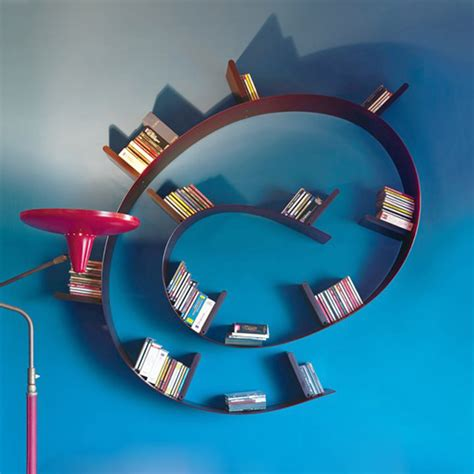 interesting bookshelves by kartell captivatist