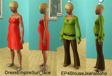 Sb Eledy Dress sims 2 patch