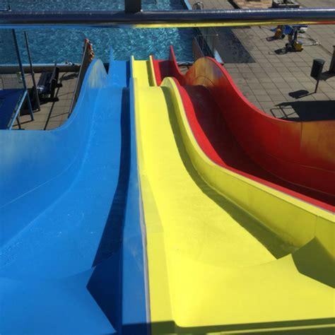 polyester boot coaten polyester reparatie en coating waterglijbaan knopenbad
