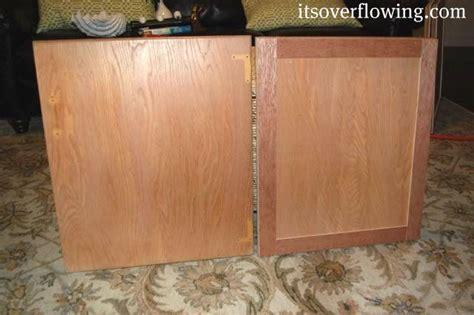 Flat Kitchen Cabinet Doors Makeover 16 Best Restain Kitchen Cabinets Images On Pinterest Cabinet Transformations Kitchen