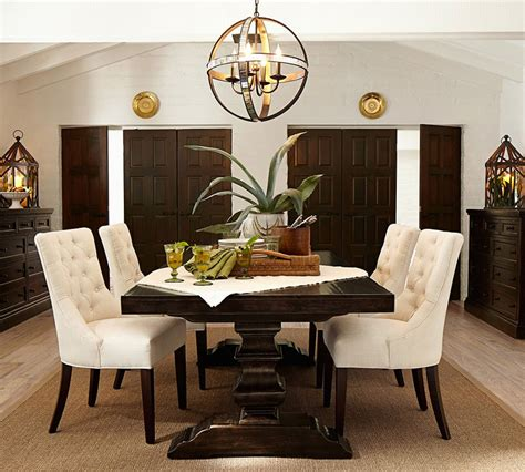 Pottery Barn Dining Rooms by Tufted Chair Pottery Barn Au
