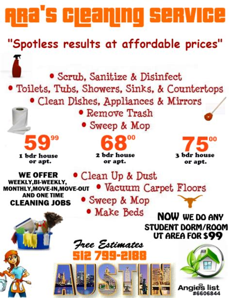 How To Price A House Cleaning by View Source Image Business House Cleaning Prices Cleaning Service And Gift