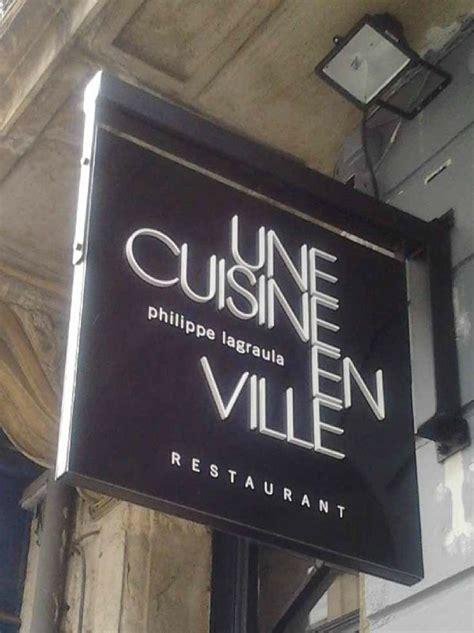 une cuisine en ville bordeaux une cuisine en ville un nouveau restaurant 224 bordeaux