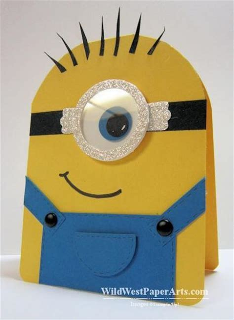 how to make a minion card 19 makes for the minion lover in your
