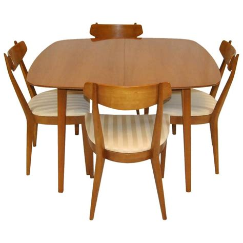 Mid Century Dining Room Furniture Mid Century Modern Dining Set By Kipp Stewart For Drexel Sun Coast Collection For Sale At 1stdibs