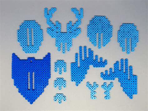 perler 3d deer 3d perler bead 3d fuse bead puzzle wall