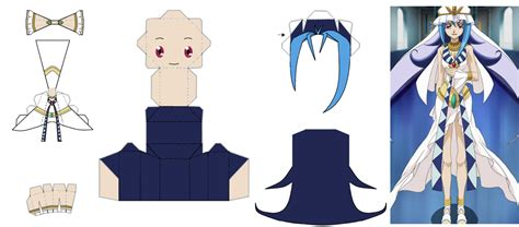 Yugioh Papercraft - kastle kamishiro papercraft by oshagirl on deviantart