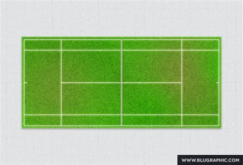 tennis court psd