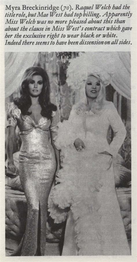 raquel welch on mae west 42 best images about raquel welch bombshell on pinterest
