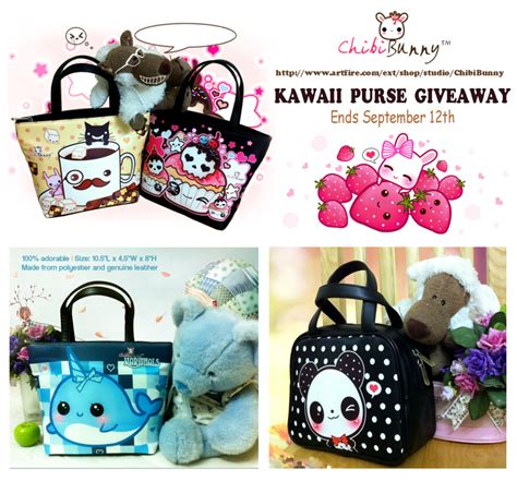 Purse Giveaway - kawaii purse giveaway by tho be on deviantart