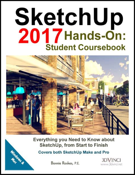 tutorial sketchup 2017 pdf sketchup 2017 hands on student coursebook pdf 3dvinci