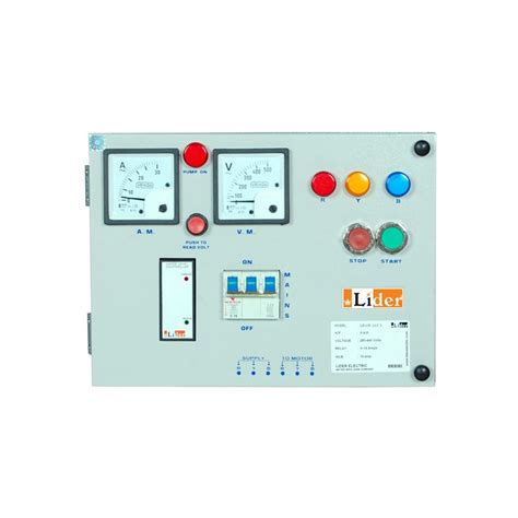 Panel Water Level Panel For 10 H P Motor Pumps With Water Level