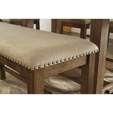 signature upholstered bench signature design by moriville upholstered