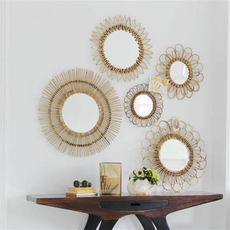 mirrors interesting set of 3 wall mirrors mirror set