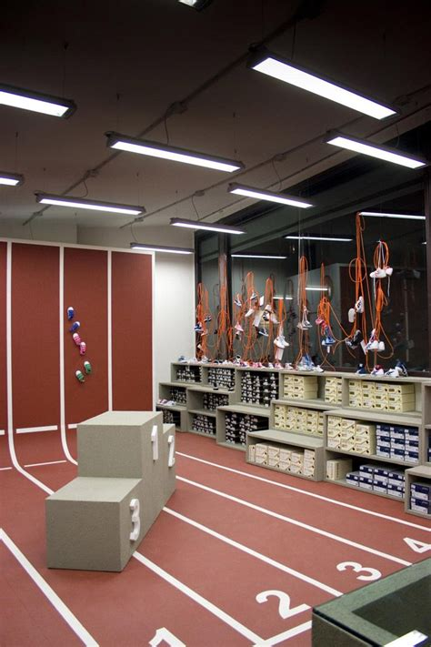 athletic shoe store retail design shoe store display store display