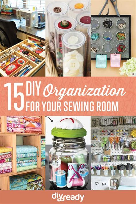 diy home organization sewing room organization ideas diy projects craft ideas