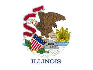 illinois state colors state flag of illinois usa american images