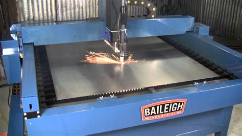 baileigh plasma table baileigh industrial pt 44s plasma table youtube