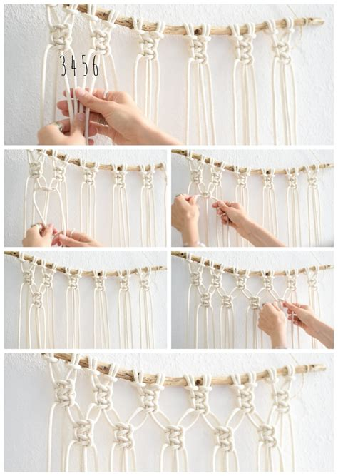 Wall Hanging Tutorial - interior easy diy macrame wall hanging tutorial
