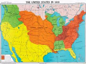 us world map map of us 1810
