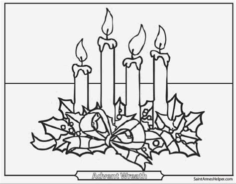 advent wreath candles coloring page advent wreath coloring page free christmas recipes sketch