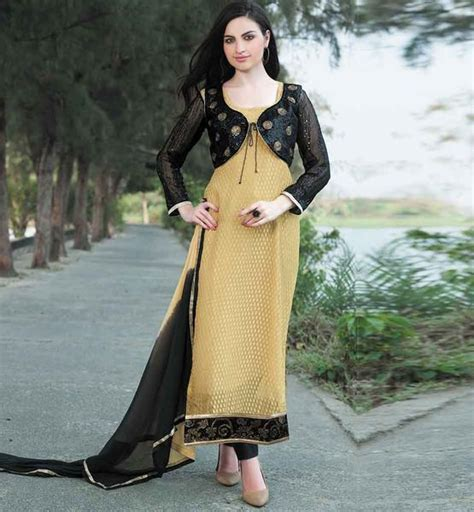 design of jacket salwar suit everstylish salwar kameez patterns designs with jacket