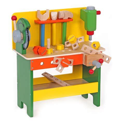 speelgoed werkbank mentari werkbank met zaag online kopen lobbes nl