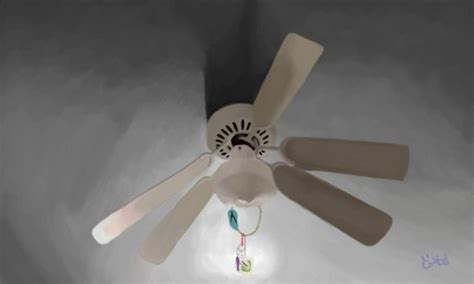 Ceiling Fan Broken by Broken Ceiling Fan
