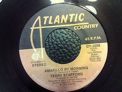 amarillo by morning by terry stafford popsike atlantic record cy 4006 terry stafford