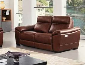 Brown Leather Recliner Sofa Forma Italian Brown Leather Power Recliner Loveseat