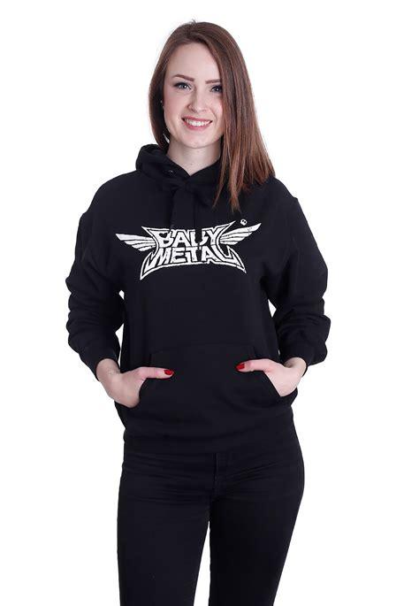 Hoodie Baby Metal Hitam babymetal crush hoodie official metal merchandise shop impericon uk